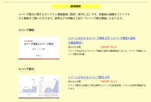 新井仁之『ルベーグ積分講義』補助教材ビデオ集画像